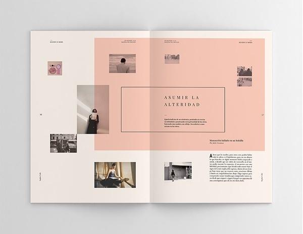 Sophie Calle   Hacedores de Mundo on Behance #print #design #magazine