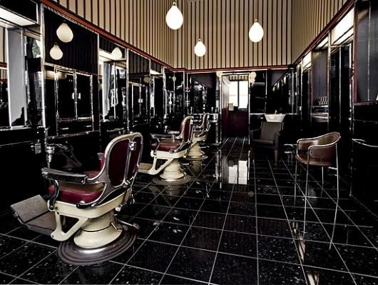 Herrefrisør BARB genåbner #interior #design #retro #barbershop #copenhagen