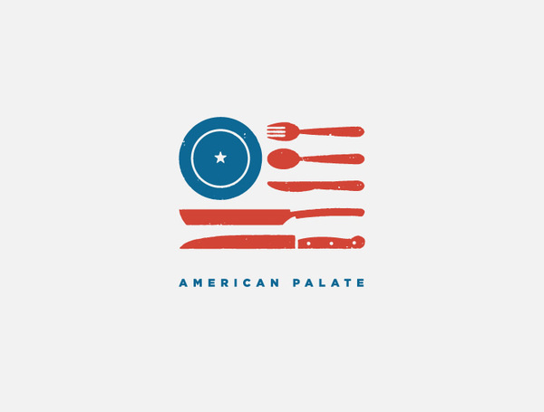 American Palate #usa #logo #j #fletcher