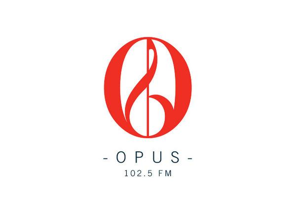 Opus Logo #radio #branding #music #logo #station