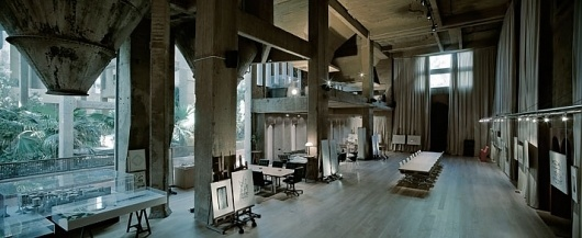 A former Cement Factory is now the workspace and residence of Ricardo Bofill   Yatzer™ #interior #industrial #architecture #ricardo #factory #cement #bofill