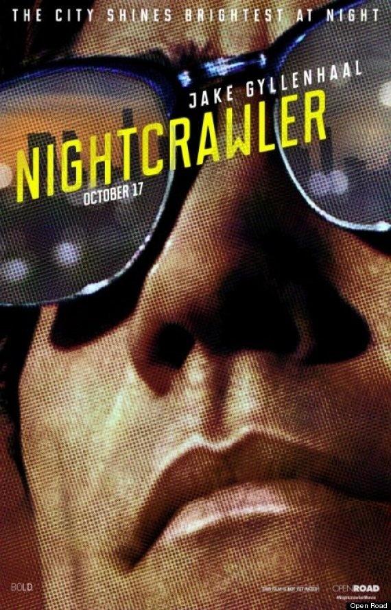 Nightcrawler Film Poster #jake #gyllenhaal #nightcrawler #poster #film