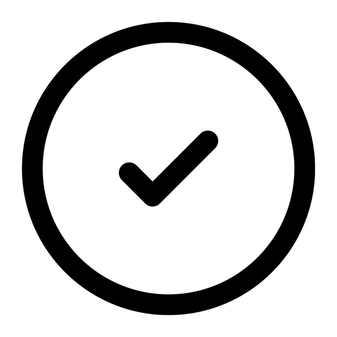 See more icon inspiration related to tick, success, checked and interface on Flaticon.