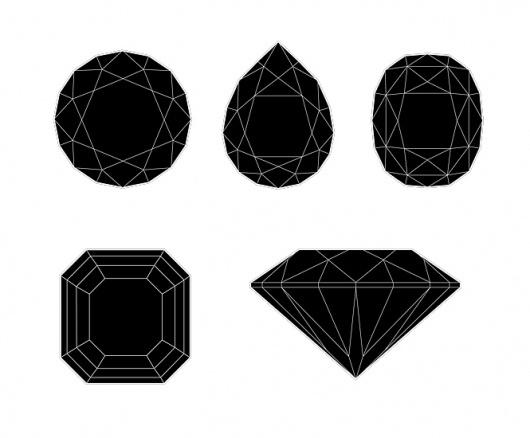 Heroes Design - Portfolio of Piotr Buczkowski - Graphic designer #diamonds #illustration #symbol