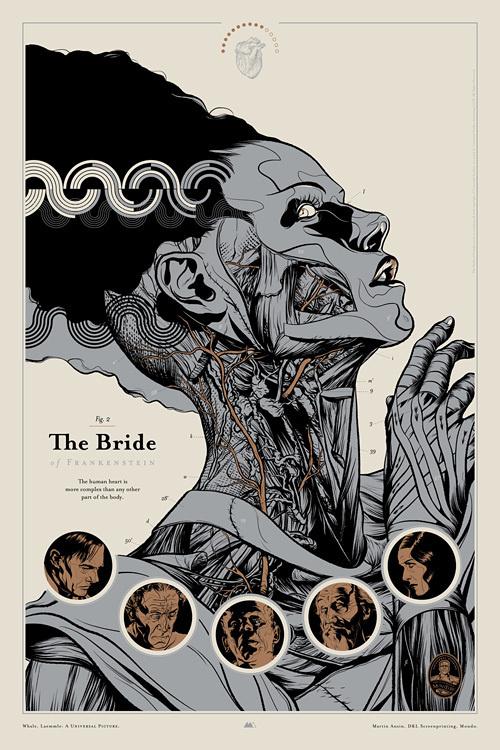 The Bride of Frankenstein : Martin Ansin, Illustrator | Illustration Portfolio #martin #ansin
