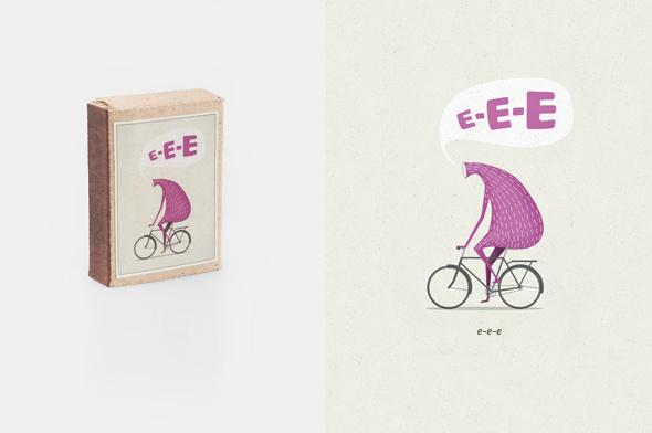 Matchboxes #matchboxes #maxim #bike #mezentsev #characters