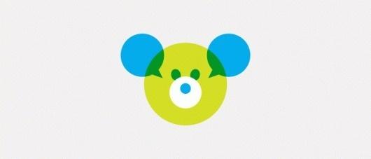 TEHDI :: Joseph Blalock Design Office #cyan #geometric #kids #logo #bear #green
