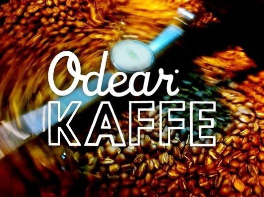 Odear - Odear Kaffe #coffee #logo #roaster #beans