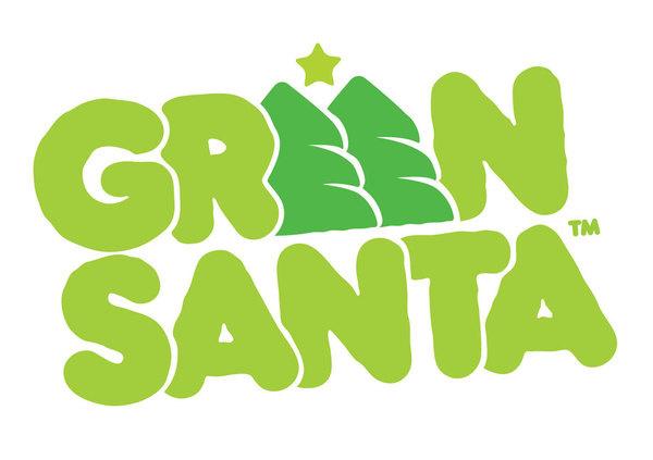 LOVE Green Santa #green