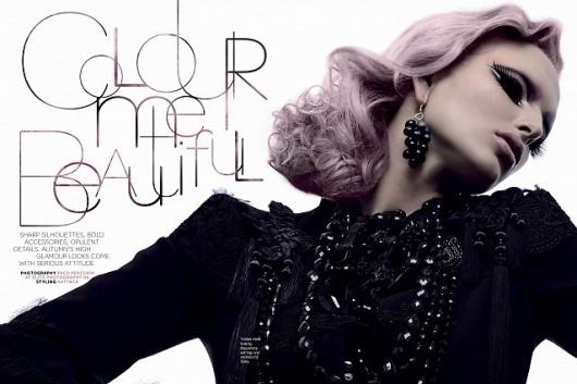 Magazine Hong-Kong | Asia Tatler #fashion #typography