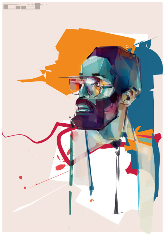 2009/2011 collection on Behance #illustration #oil