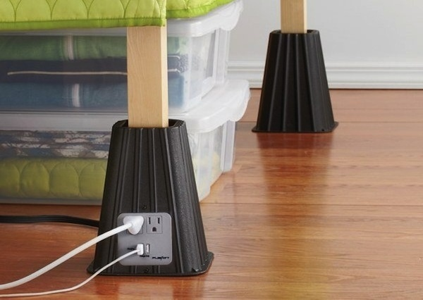 USB Bed Risers #gadget #home