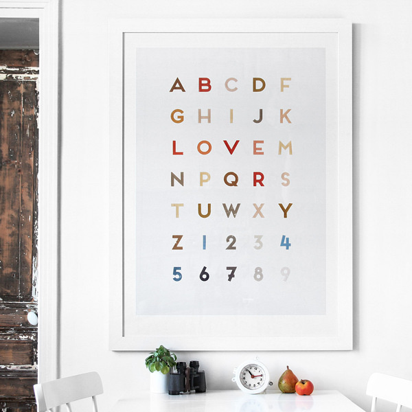 Letter Love on Typography Served #font #letters #design #type #love