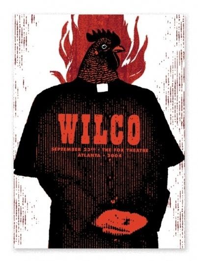 wilco_atl.jpg (495×650) #screen #print