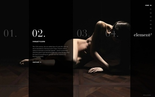 Element 7 (Website) #website #flash #web #design