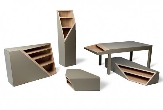 CUTLINE | Hole Design Studio #furniture