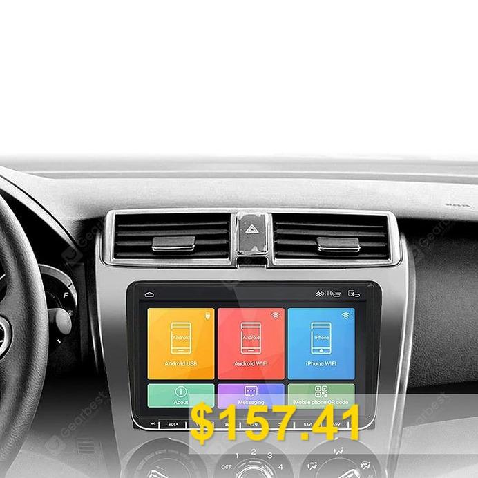 ML #- #CKVW92 #9 #inch #HD1080P #Car #DVD #Player #Android #6.0 #Dual #Din #MTK8227L #16G #Bluetooth #4.0 #- #BLACK