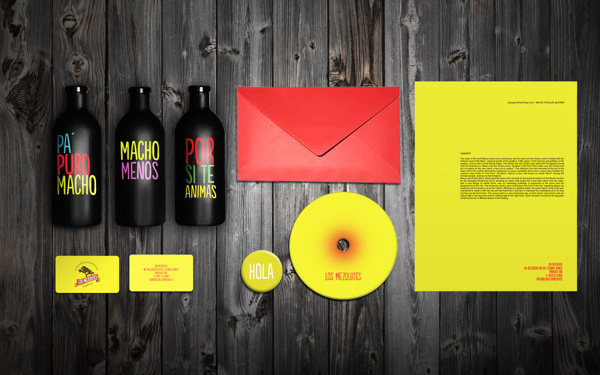 LOS MEZQUITES on Behance #stationery