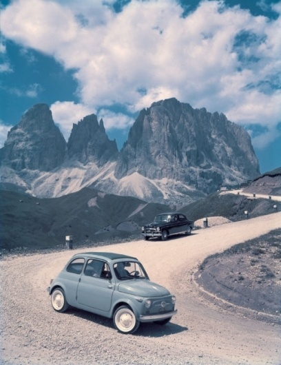 Merde! - Photography (Fiat 500) #cars #photography #vintage