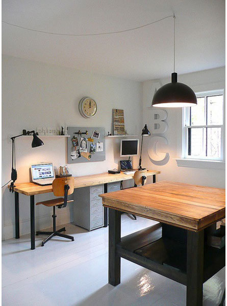 Working Space inspiration via www.mr cup.com #office #workspace