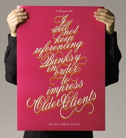 In focus: Like Minded Studio « From up North #design #banksy #illustration #poster #typography