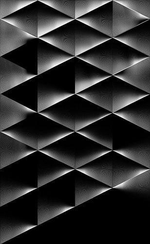 Buamai On Flickr Photo Sharing! #black #pattern #geometric