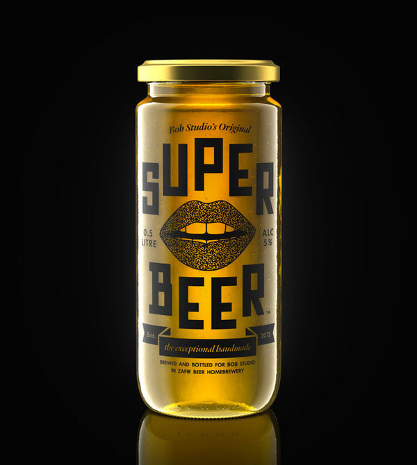 lovely package bob studios original super beer 1 #glass #alcohol #bottle