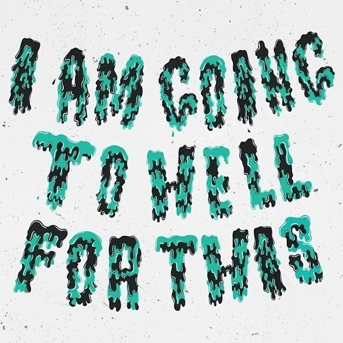HELL #lettering #illustrations #letterng #type #hand #typography