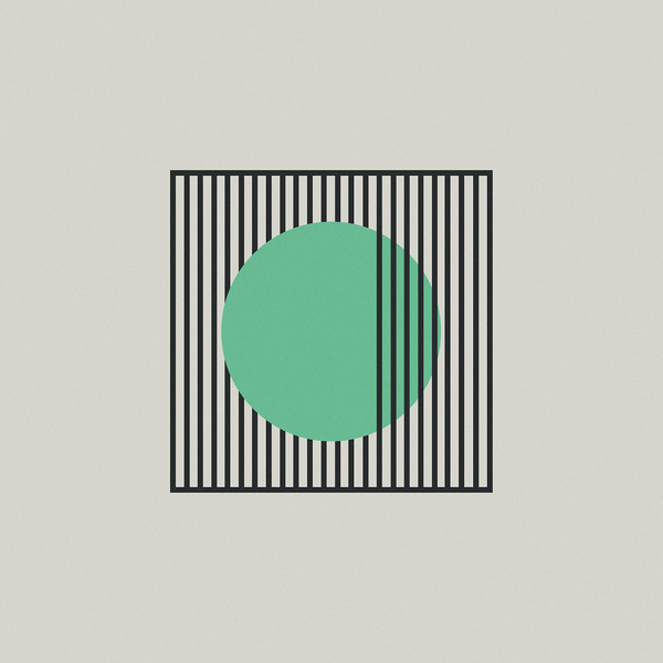 c is for choking #lines #geometry #abstraction #illustration #circle #teal #typography