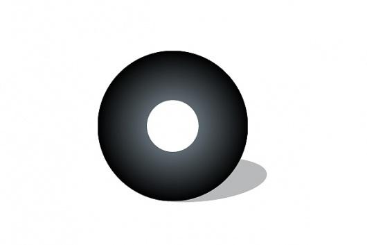 Logo Designs on the Behance Network #circle #white #kelava #black #geometric #josip #sound #jaykay #and #logo