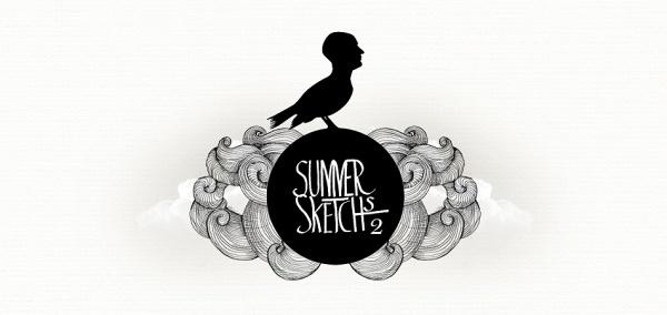 Summer Sketchs II | Creatorica #sketch #drawn #hand #poster