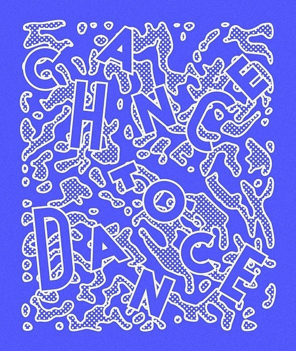 Chance To Dance - Benny Arts #print