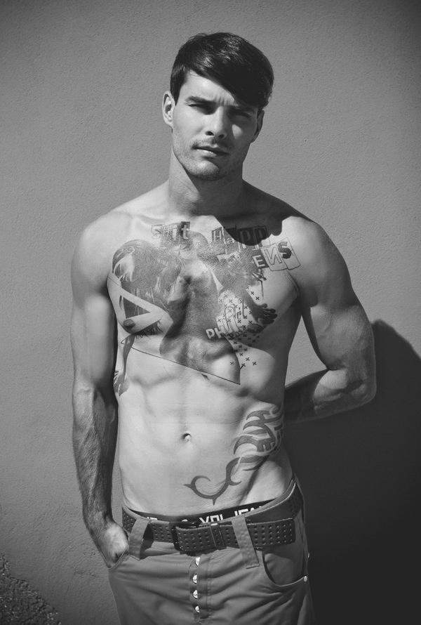 Christopher Petsch by Mirko Stoedter #model #tattoo #male