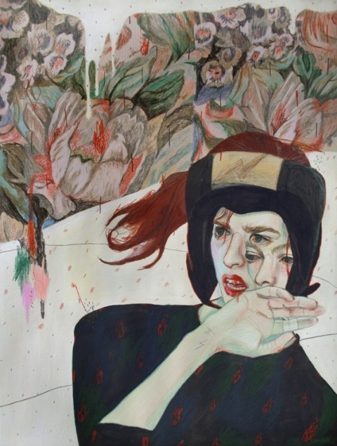 Alexandra Levasseur | PICDIT #design #artwork #art #painting #drawing