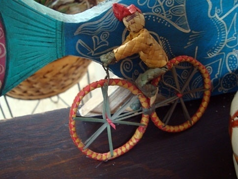 eyeone | seeking heaven #toys #folk #bicycle #mexico #art