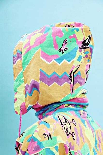 ELISE ROSE.   CANDY SHOP #jacket #photo #color #candy #colour #pastels