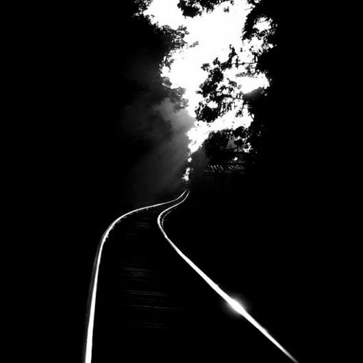 Google Reader (1000+) #train #white #black #tracks #photography #and #contrast