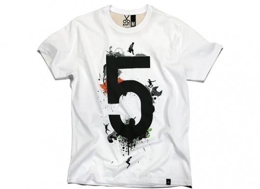 KAFT Design - RAKAMÄ°5Â Tshirt #clothing #numerical #tshirt #design #five #number #tee #typography