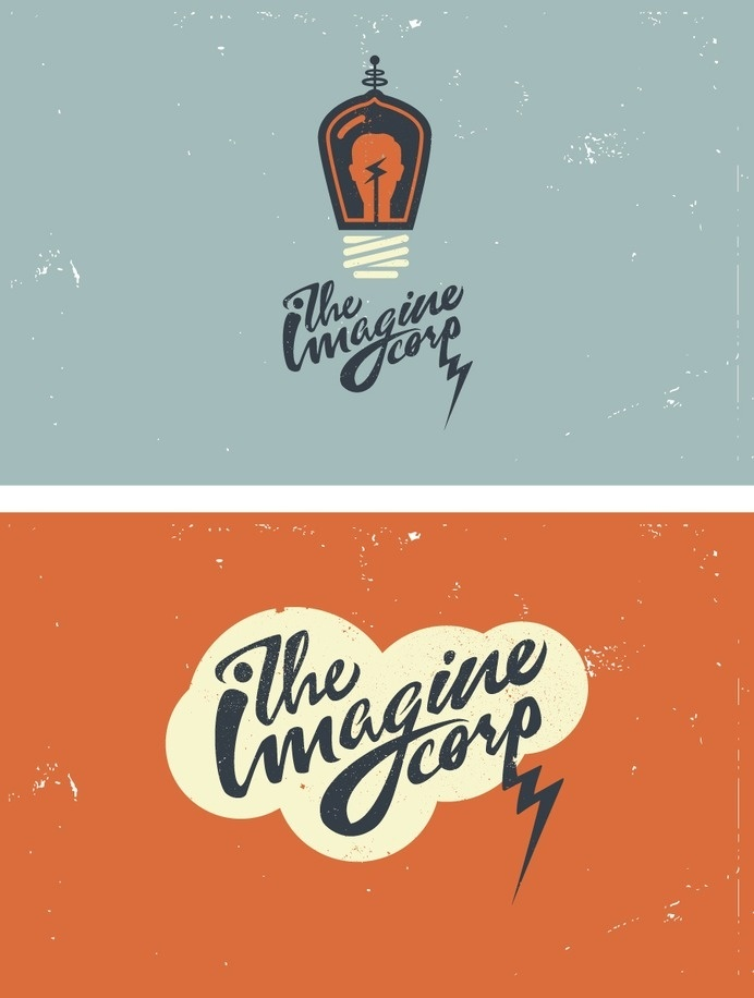 Logo/branding/promotional materials for Ryan Rutherford's new company #logo #design #vintage #typography
