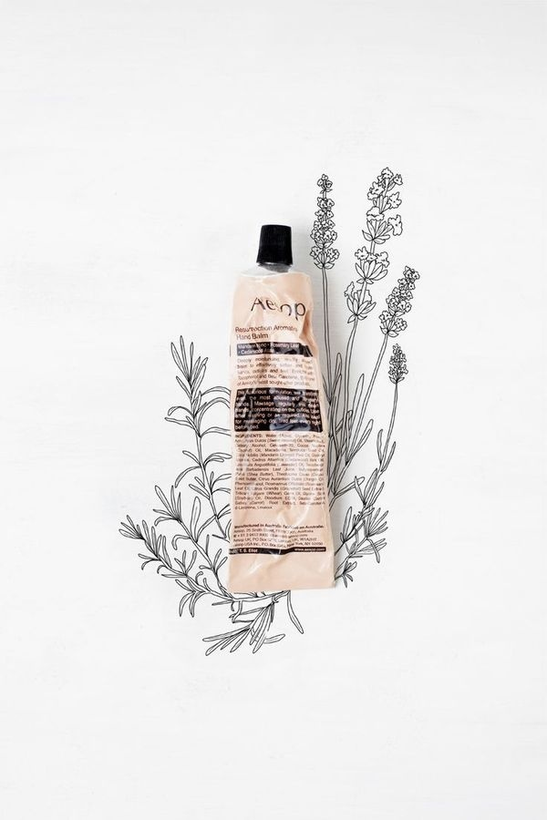 // aesop and illustrations #branding #aesop #illustrations #product #mixed #advert #media #drawing #flowers