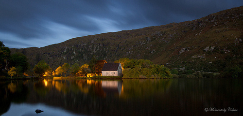 Gougane Barra Panorama by Celine Pollard #nature #photography #panorama #landscape