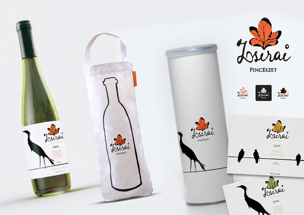 Zsirai identity on Behance #packing #label #wine #clean #minimal
