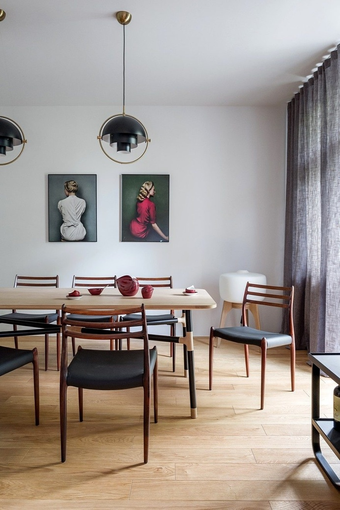 Tasteful Display of Contemporary Design in a Cozy Apartment in Szczecin, Poland 9