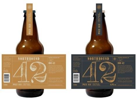 Northbound Brewing Co. #beer #bottle #label #packaging