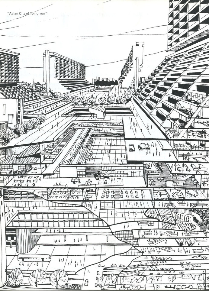 """scan_of_SMLXL_OMA-RemKoolhaas, """"Asian Cities of Tomorrow"""" #urban"""