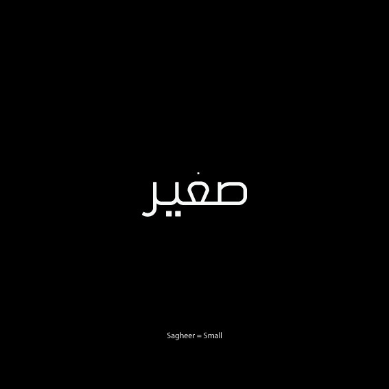 Written Visuals on Behance #word #visual #arabic #typography