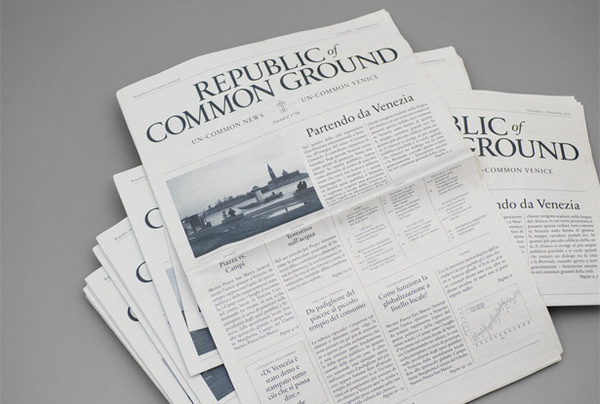 Bänziger Hug Welcome #newspaper #editorial
