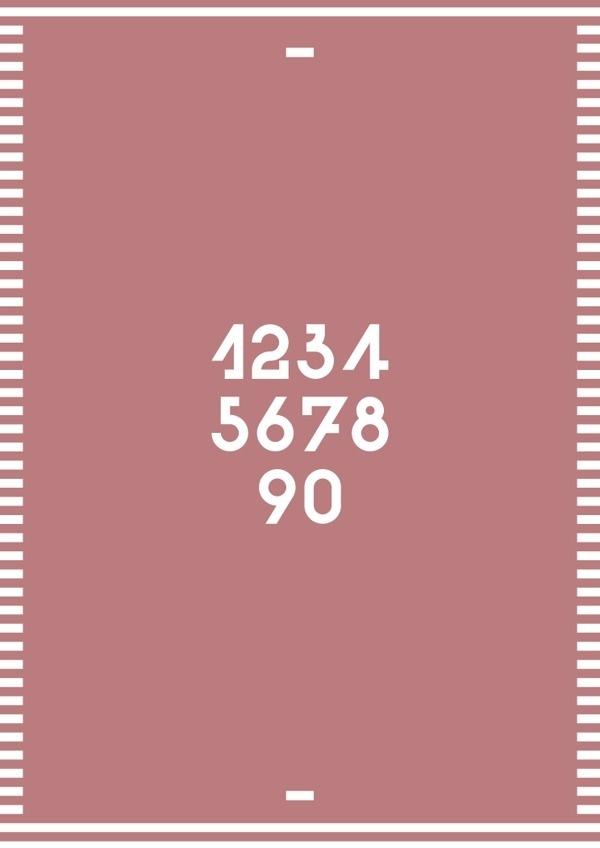 Texta Font #font #vector #red #serif #print #vintage #poster #blue #typography