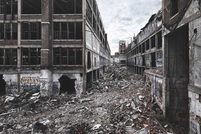 Gorgeous Abandoned Buildings Photography by Jamie Betts