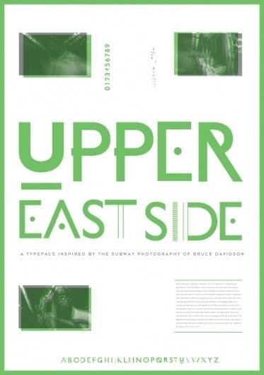 Raw Type / Open Brief – Winner #upper #eastside #typography